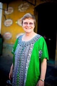 Anita in El Salvador 2010