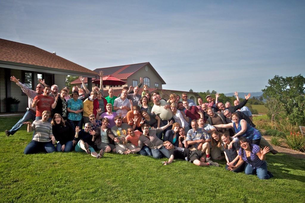 2013 Retreat Group photo