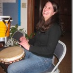 Drummer at EcoFaith Event