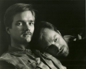 Joel Workin (left) and Paul Jenkins