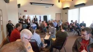 Proclaim Retreat workshop. Photo by Cary Bass