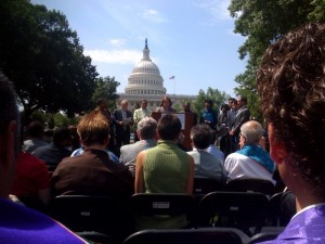 Human Rights Campaign Press Conference in DC