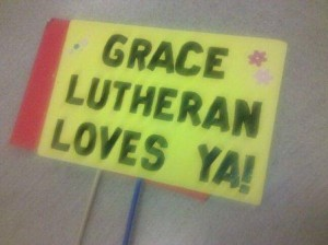 Grace Lutheran Sign