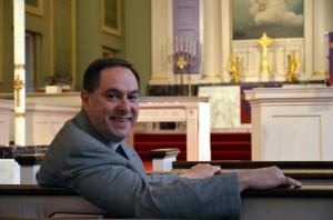 Pastor Bradley Schmeling: photo from Gloria Dei website