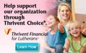 Help support our organization through Thrivent Choice. Learn how.