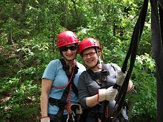Jen and Deb