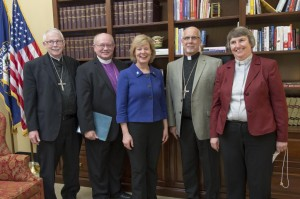 cindy crane with bishops