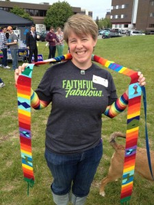 Rev. Susan Halvor, Alaska  Pride