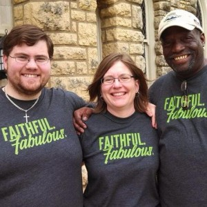Three Proclaim Seminarians at Wartburg: Paul Andrew Johnson, Becky Goche, and Gus Barnes, Jr.