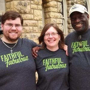 Three Proclaim Seminarians at Wartburg: Paul Andrew Johnson, Becky Goche, and Gus Barnes, Jr.