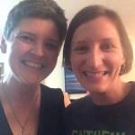 Proclaimers Leslie Walton & Jen Rude meet in person!