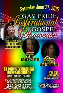 Pride Gospel Night 2015