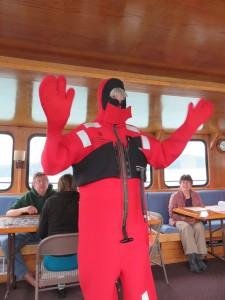 Margaret pic survival suit