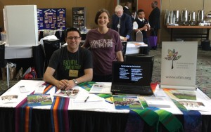 ELM's Display Table at Metro Chicago Synod Assembly in 2015