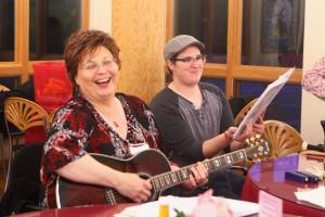 Evening music! Photo credit: Emily Ann Garcia