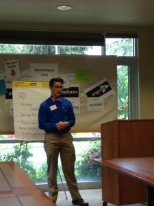 Leo leads the ReconcilingWorks workshop.
