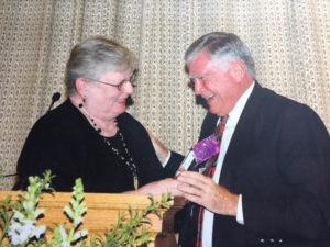 Mari Irvin and Joe McMahon